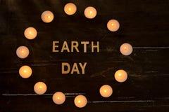 сбережениа иллюстрации энергии славные мягкие Концепция в час земли, часа без света стоковые фото