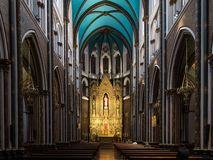 Священная церковь сердца в Бильбао Испании Церковь Sagrado Corazon стоковое фото rf
