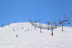 Сезон лыжи Ливана стоковая фотография