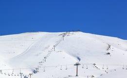 Сезон лыжи Ливана стоковая фотография rf