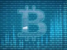 Секретный символ валюты иллюстрация штока