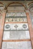 Сен-Мартен собора Лукки Лукки Тосканы Италии стоковое фото rf