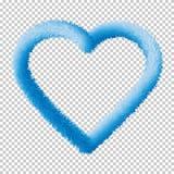 Сердце, подобие, элементы Eps10 сети вектора значка сети иллюстрация вектора