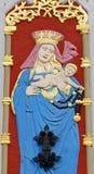 Символизм дома угорь St Маврикий своя голова черноты символа- находился в гербе братства стоковое изображение rf
