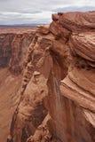 Скала в каньоне шага страницы стоковые фотографии rf