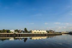 Склады, порт Boca Ла, Буэнос-Айрес, Аргентина стоковые изображения