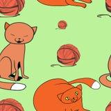 Domestic cat stock illustration