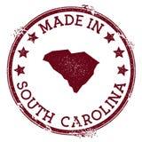 Сделанный в штемпеле Южной Каролины бесплатная иллюстрация