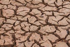 Сухая почва и треснутая земля стоковое изображение rf