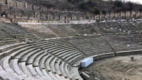 Стадион древнегреческого в провинции Aydin магнезии, Турции сток-видео