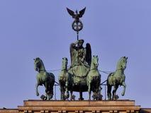 Статуя Бранденбургских ворот стоковое изображение rf