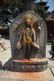 Статуя лорда Shiva, индусского бога, Катманду, Непала стоковое фото rf
