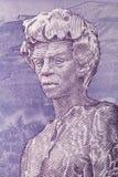 Статуя Sevak от армянских денег иллюстрация штока