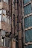 старые трубы ржавые стоковое изображение rf