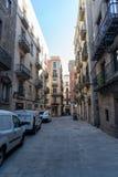Старый город Барселона стоковое изображение rf
