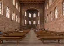 Старый Трир городка, место всемирного наследия ЮНЕСКО стоковое изображение rf