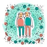 Старое couple-11 бесплатная иллюстрация