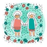 Старое couple-08 бесплатная иллюстрация