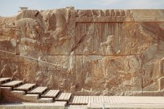 Стародедовское Persepolis Marvdasht, провинция Fars, Иран стоковые изображения rf