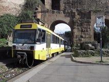 Стоп поезда в Риме стоковые изображения