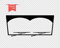 Счищатель лобового стекла в inclement погоде иллюстрация вектора, элементы дизайна на изолированной прозрачной предпосылке бесплатная иллюстрация
