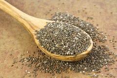 Сырцовые семена Chia стоковые фото