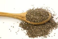 Сырцовые семена Chia стоковая фотография rf