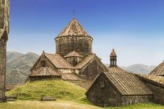 Средневековый армянский монастырь Haghpat, Армения стоковая фотография