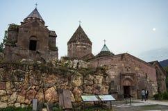 Средневековый монастырь Goshavank Зона Dilijan стоковые фотографии rf