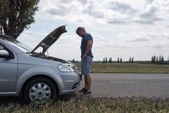 Сar accident concept stock photos