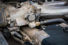 Ð¡ar engine, detail view. Stock Photo