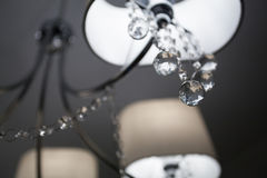 Ð¡handelier with cut glass Royalty Free Stock Images