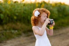Сheerful photographer Stock Photo
