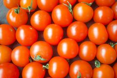 Сherry tomatoes royalty free stock photo