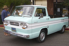 Сhevy 1962 Сorvair 95 ramp side pickup truck Stock Photos