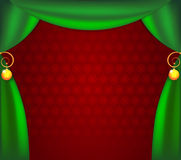 сhristmas_curtains Royalty Free Stock Photo