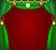 сhristmas_curtains Stock Photos