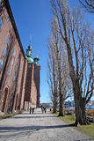 Ð¡ity Hall. Stockholm, Sweden - March, 16, 2016: Ð¡ity Hall - one of the most popular tourist places in Stockholm, Sweden royalty free stock photos