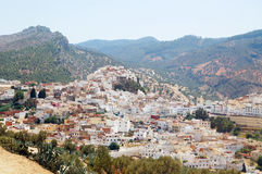 Ð¡ity of Moulay Idriss in Morocco. Africa royalty free stock image