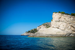 Ð¡liff on Zakynthos Royalty Free Stock Images