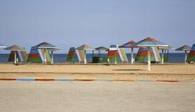 Ð¡oast of the Caspian Sea in Mardakan. Azerbaijan.  royalty free stock image