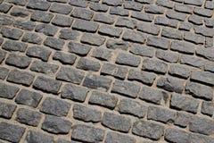 Ð¡obblestone pavement. Сobblestone pavement pattern texture background image stock image
