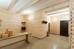 сomfortable sauna Stock Photography