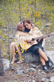 Ð¡ouple in love Royalty Free Stock Image