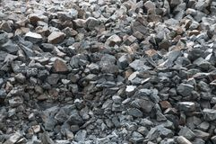 Сrushed stones texture. Stock Photos