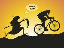 Сyclist Stock Image
