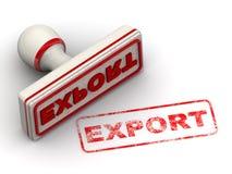 экспорт Уплотнение и отпечаток иллюстрация вектора