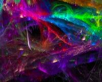Элегантность украшения абстрактной науки скручиваемости фрактали текстуры волшебной творческая футуристическая, динамика иллюстрация вектора