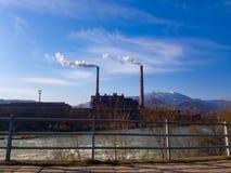 Электростанция в Zenica стоковое фото