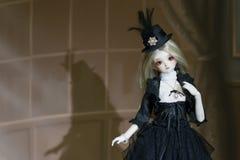 Японский стиль lolita куклы стоковые изображения rf